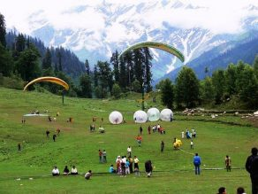 Chandigarh to Manali Cab Services